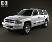 Dodge Durango 1997 3D Model