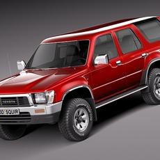 Toyota 4runner 1989-1997 3D Model
