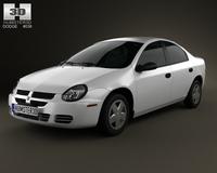 Dodge Neon 2005 3D Model