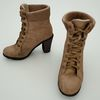 08 00 39 436 brown high heel shoe winter female woman footwear 3 4