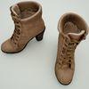 08 00 39 726 brown high heel shoe winter female woman footwear 5 4