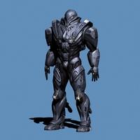 Robot 4 3D Model