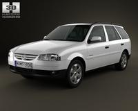 Volkswagen Parati 2012 3D Model