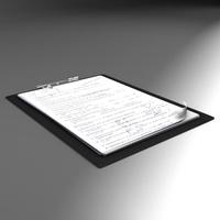 Folder note 3D Model