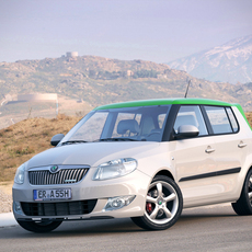 Skoda Fabia GreenLine 5J Facelift 2010 3D Model