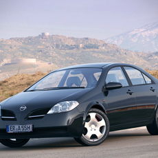 Nissan Primera P12 Sedan 3D Model