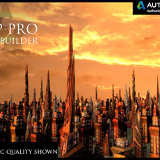 BZP PRO City Builder 1.0.0 for Maya (maya script)