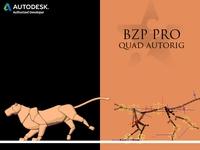 BZP, PRO Quad Autorig 0.0.3 for Maya (maya script)