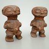 08 02 24 493 africa statues wood male female man woman 2 4