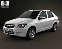 Chevrolet Prisma 2013 3D Model
