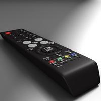 TFT remote control 3D Model