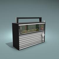 VEF 206 Radio 3D Model