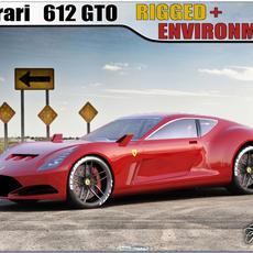 Ferrari 612 GTO concept 3D Model