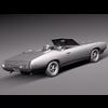 08 04 39 9 pontiac gto 1969 convertible grey 0004 4