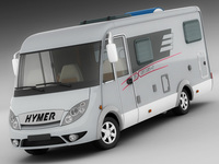 Hymer Exis Motorhome 3D Model