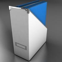 Folder holder 3D Model
