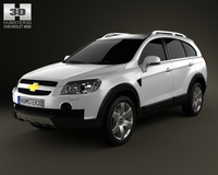Chevrolet Captiva 2010 3D Model