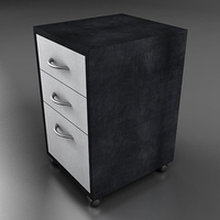 Side table 3D Model