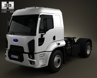 Ford Cargo Tractor Truck 2012 3D Model