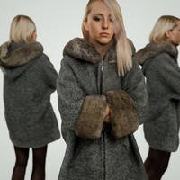 Grey Coat Girl 3D Model