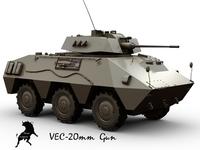 VEC-20 3D Model