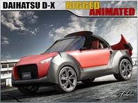 Daihatsu D-X concept 3D Model