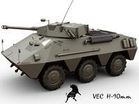 VEC H-90 3D Model