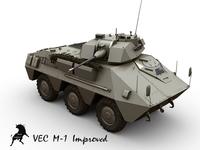 VEC M-1 3D Model