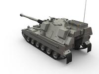 AS-90 Braveheart 3D Model