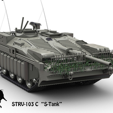 STRV-103 C 3D Model