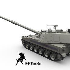 K-9 Thunder 3D Model