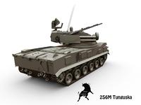 2S6M Tunguska 3D Model