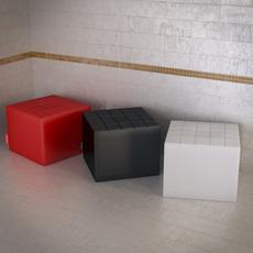 Topdeq Fatboy puf 3D Model