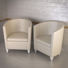 Topdeq John Bronco armchair 3D Model