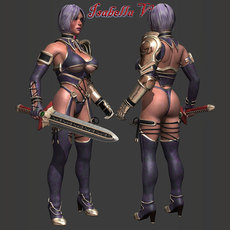 Isabella V 3D Model