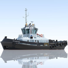 ATD Tug PB DARLING 3D Model