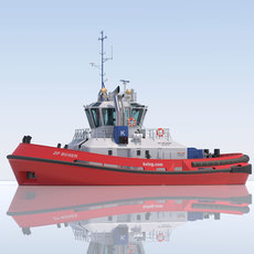 ATD Tug ZP BOXER 3D Model