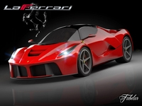 Ferrari LaFerrari 3D Model