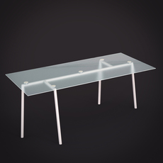 Topdeq Plateaux table 3D Model