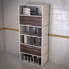 Topdeq Spinoff shelving 3D Model