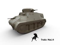 Trubia Mod.A 3D Model