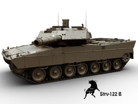 STRV-122 B 3D Model