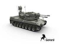 Gepard FlakPanzer 3D Model