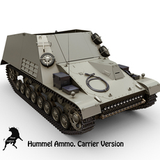 Hummel Ammo. Version 3D Model