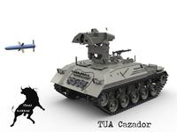 TUA Cazador 3D Model
