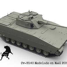 CV-90/40 3D Model