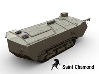Saint Chamond 3D Model