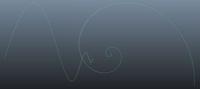 Free Fibionacci Curve for Maya 1.0.0 (maya script)
