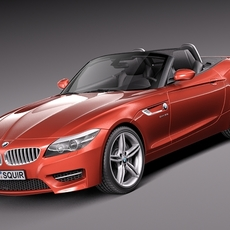 BMW Z4 2014 3D Model