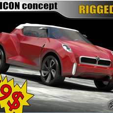 MG Icon concept 3D Model